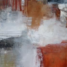 Abstract with red
